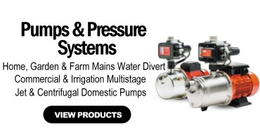 Pumps & Pressure Systems