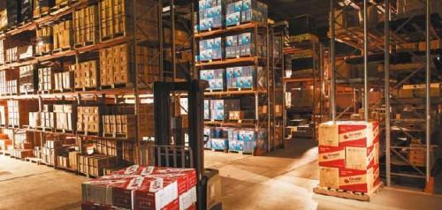 Orange Pumps Warehouse 1