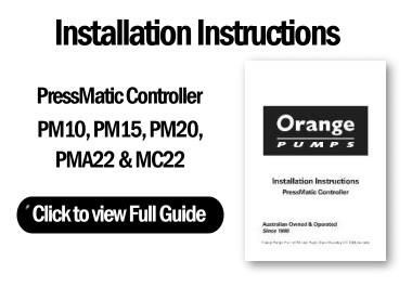 Installation Guide - PressMatic Controller