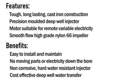 HD400 Deep Well Pump Features & Benefits