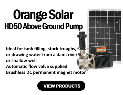HD50 Above Ground Solar Pump