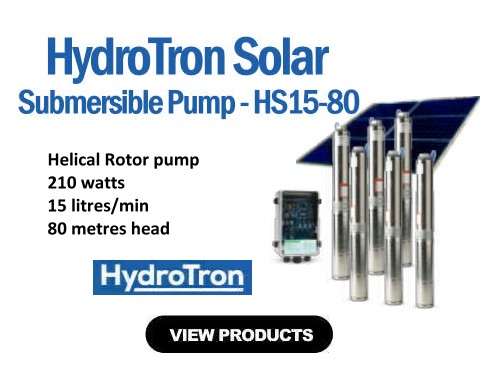 HydroTron HS15-80 Submersible Solar Pump