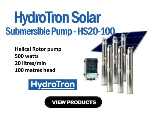 HydroTron HS20-100 Submersible Solar Pump