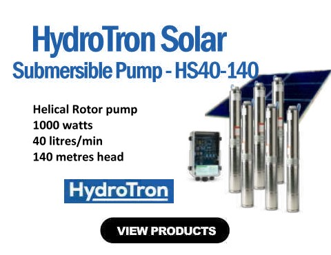 HydroTron HS40-140 Submersible Solar Pump