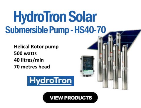 HydroTron HS40-70 Submersible Solar Pump