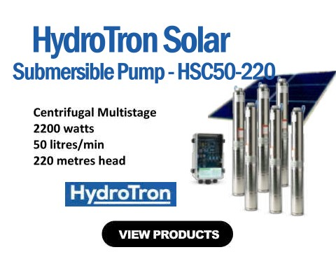 HydroTron HSC50-220 Submersible Solar Pump