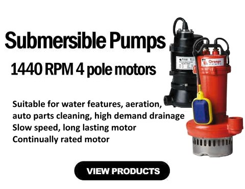 1440 RPM Pumps
