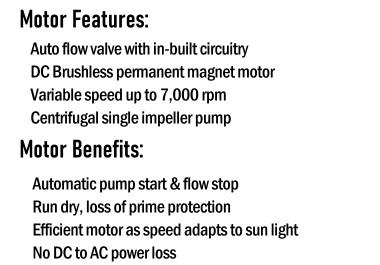 HD50 Solar Pump Features & Benefits