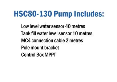 HydroTron HSC80-130 Pump Includes